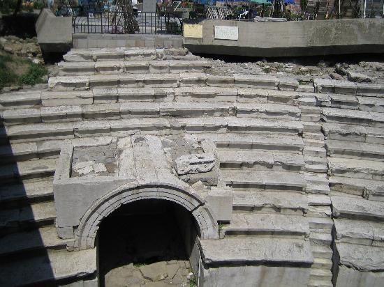 Plovdiv Province, Bulgarien: Remains of Roman Stadium built in 2nd century AD
