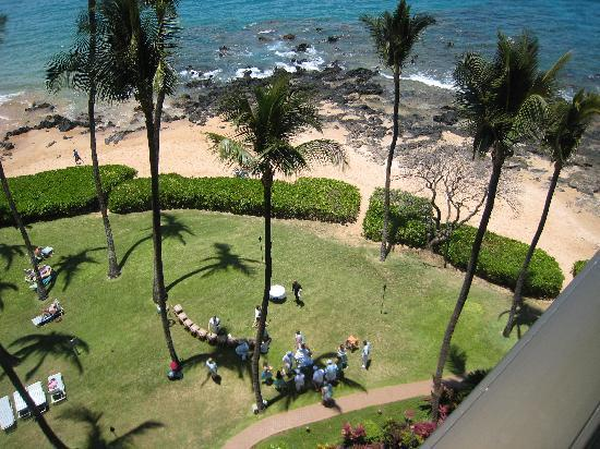 Mana Kai Maui: The lawn is nice enough for a wedding!