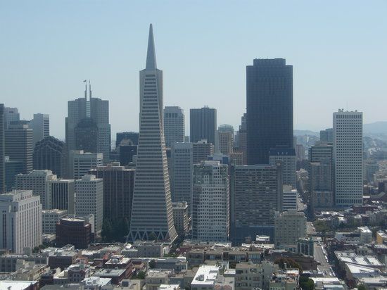 San Francisco, Kalifornia: View from Coit Tower