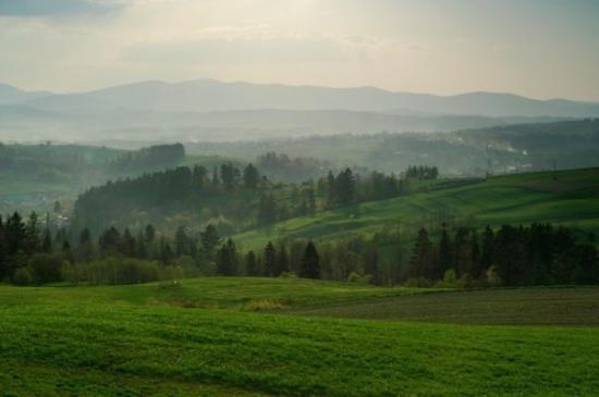 Ochotnica Gorna, Polen: Gorce, Poland