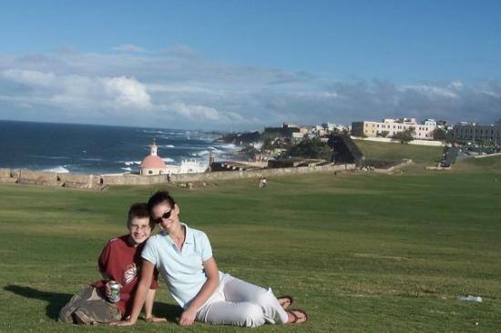 รินคอน, เปอร์โตริโก: Mommy & Caleb in San Juan, PR
