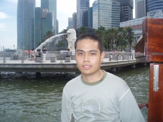 สวนสิงโตทะเล: 鱼尾狮 (2009年3月23日)
