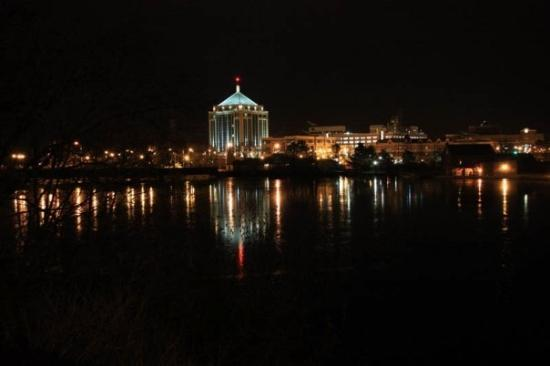 hometown wausau wi skyline at night always wanted to take this