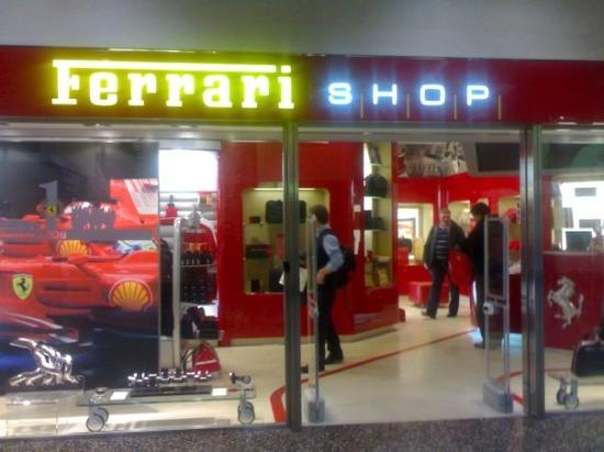 Ferrari Shop at Milan Malpensa Airport - Picture of Milan 8a8315f703