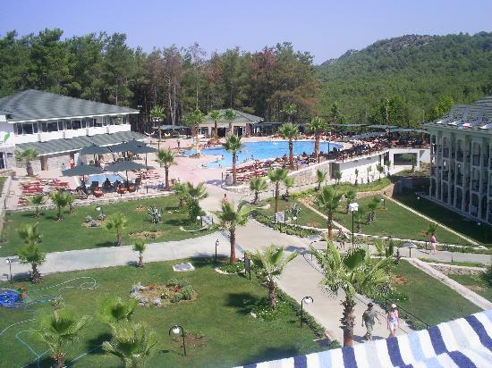 Green Forest Hotel: View from our room