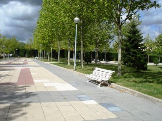 A random Spanish park: fotografía de Salamanca, Provincia de