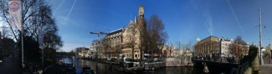 American Hotel Amsterdam: Leidesplein- One of the canal hubs in Amsterdam.