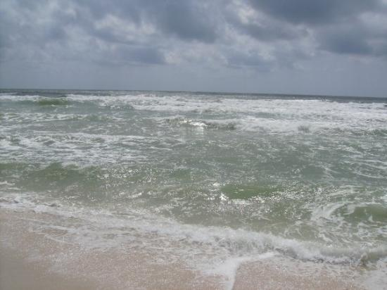 หาดออเรนจ์, อลาบาม่า: The gulf.