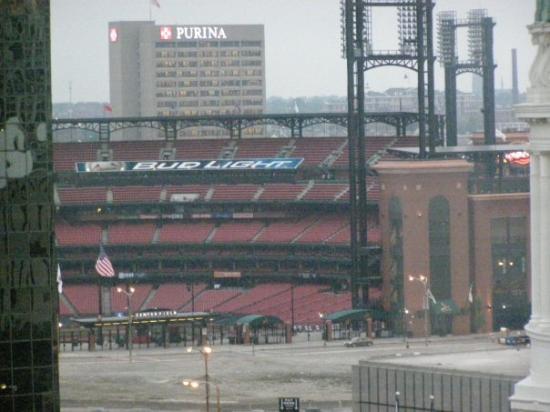 Saint Louis Mo Busch Stadium View From Our Hotel