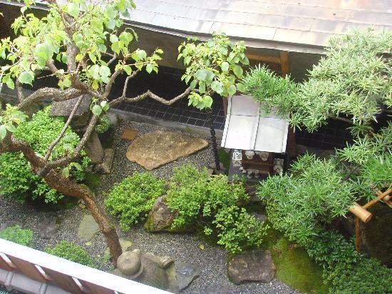 Motonago: view of the garden