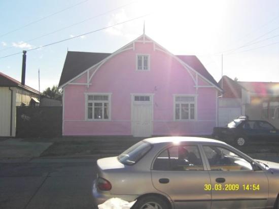 ปุนตาอาเรนัส, ชิลี: Meget lyseroedt hus i Punta Arenas