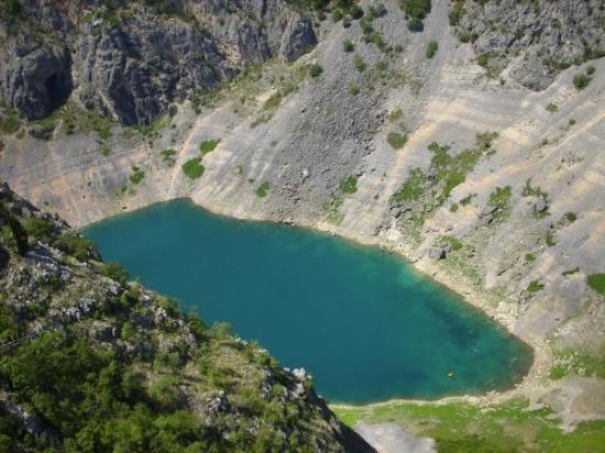 Modro Jezero Picture Of Imotski Split Dalmatia County