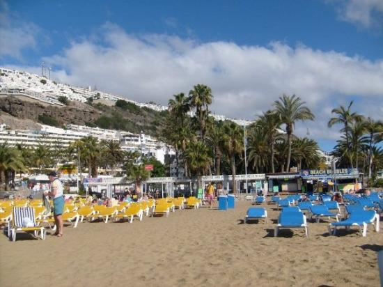 เปอร์โตริโก, สเปน: Gran Canaria, Puerto Ricon rantaelämää.