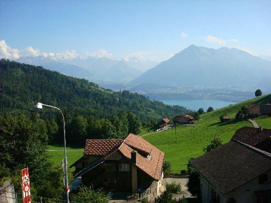 Hotel Restaurant Alpenblick: vista desde la habitación