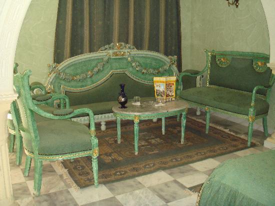 Gafsa, Tunesien: coin salon dans la chambre