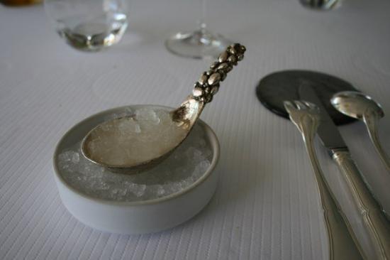 Le Petit Nice: A granite of Sake.