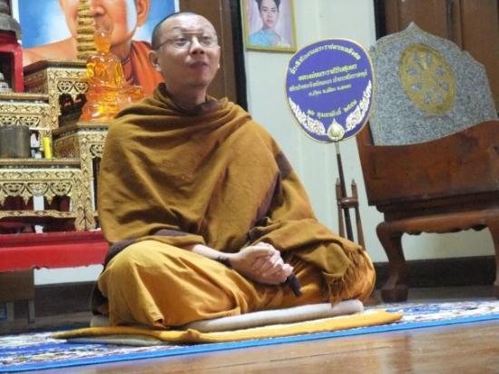 วัดพระธาตุดอยสุเทพ: Teacher Monk, Doi Suthep International Buddhism Centre. Dhamma talks were great with this guy.