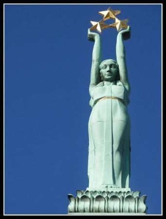 Freedom Monument (Brivibas Piemineklis) ภาพถ่าย