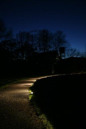 เอสเซน, เยอรมนี: Night falling on Zollverein