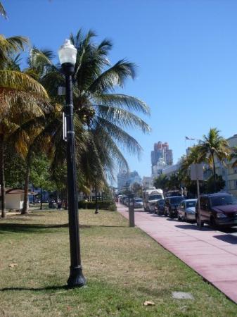 Ocean Drive: Miami Beach, FL, USA Art Deco District