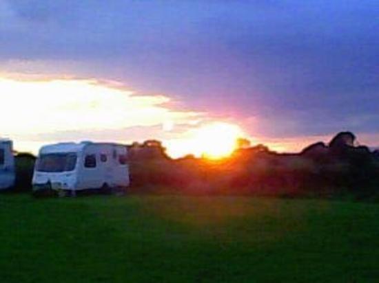 Garstang, UK: Parents caravan @ Cabus