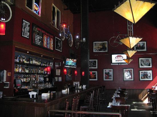 Belltown Pizza Interior Of The Restaurant