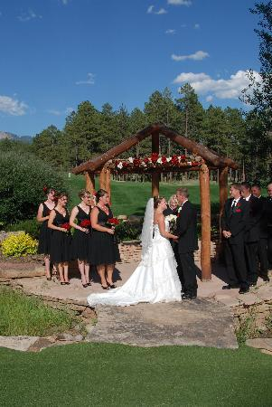 Echo Basin Ranch: This is a picture of our wedding ceremony