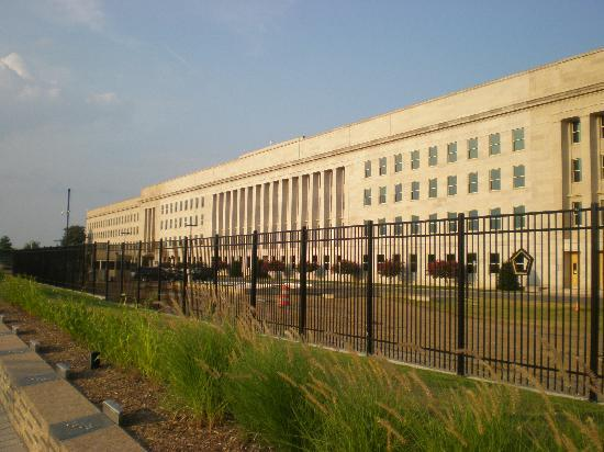 District of Columbia: Restored portion of Pentagon Bldg. after 9/11 attack