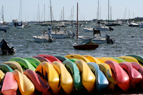 Nantucket, MA: boats and sea