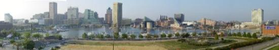 Baltimore Inner Harbor large view