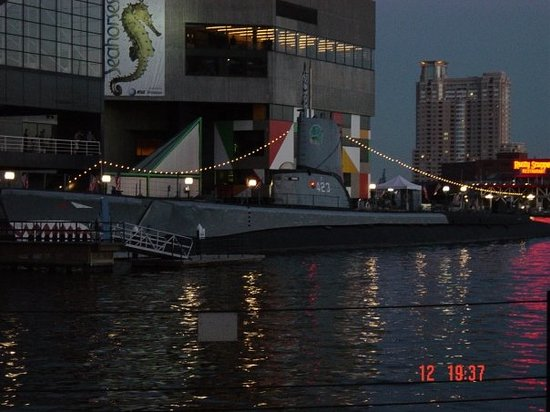 Historic Ships in Baltimore: USS Torsk SS-423. On of the submarine from II world war