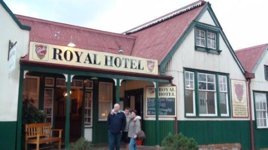 The Royal Hotel: (Monte & Cathy Jordaan & Alwyn Landman) Pilgrim's Rest, South Africa