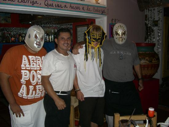 Maria Gallo: memo and the workers letm e wear their luchador mask