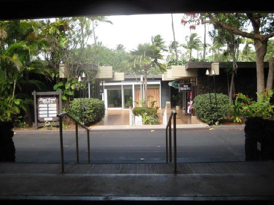 Kaanapali Ocean Inn: front of the entrance