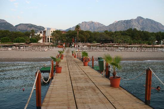 Otium Hotel Life: View from the sea Jetty