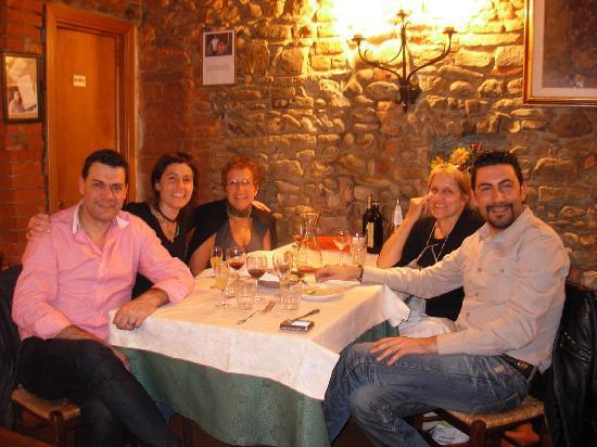Hotel San Lorenzo: cenando con Alex y Homero
