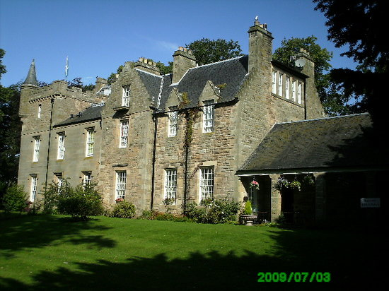 Cupar, UK: The house