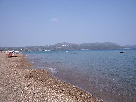 Panorama Resort : Beach near Finikounda