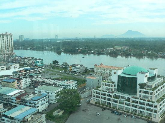 M Hotels: View from Horizon Cafe (breakfast on 10th floor)