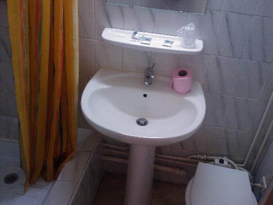 Les Charentes Poitou: Este era el baño