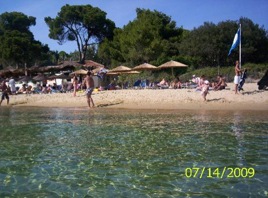 Oasis: One of the many fab beaches on Skiathos