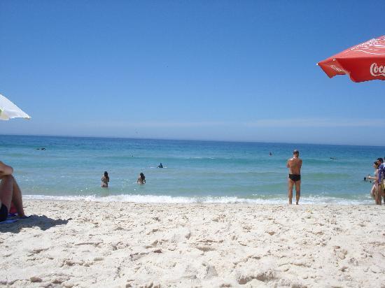 Garota de Itauna: la playa