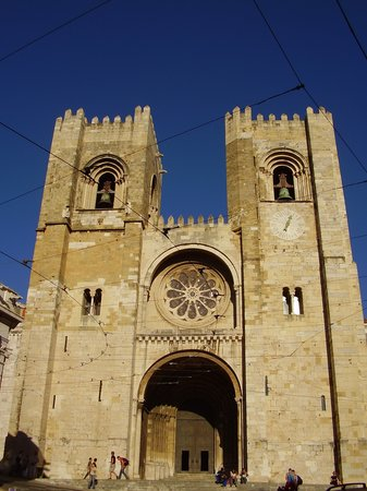 Lisabon, Portugalsko: Sé de Lisboa