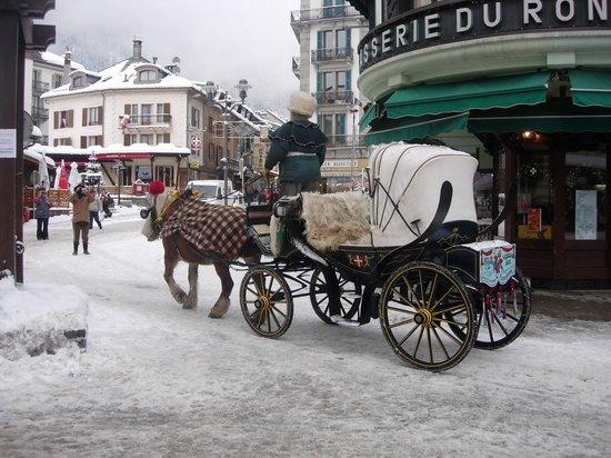 Maeva Residence Le Chamois Blanc: Carretto