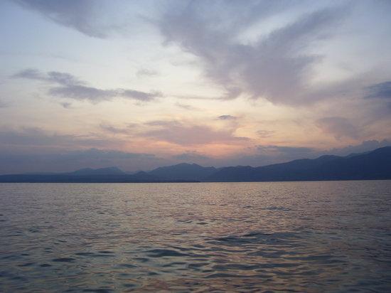 Hotel La Perla: Garda Sun Set