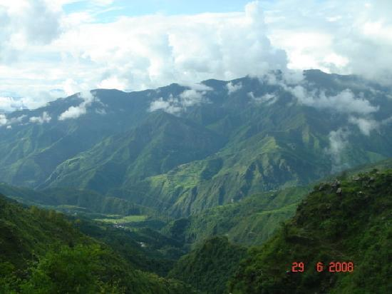 Mussoorie, India: Evergreen Hills in the Monsoon Mist