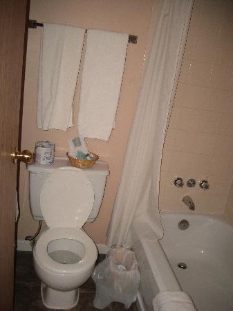 Happy Day Inn Hotel : Badezimmer