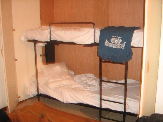 Hotel Plaza: Bunkbed - kids cannot sleep