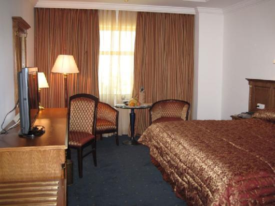 Bristol Hotel : sinle room at Hotel Bristol, Amman, Jordan