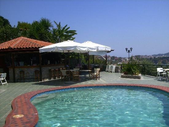 Villa Melia: Pool & Bar